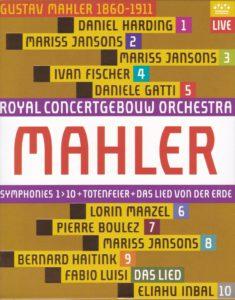 マーラー交響曲全集(Blu-ray) ロイヤル・コンセルトヘボウ管弦楽団(2009-2011年)