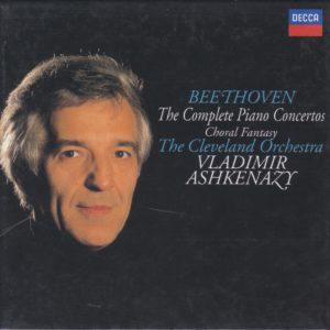 ベートーヴェン ピアノ協奏曲全集 ヴラディーミル・アシュケナージ/クリーヴランド管弦楽団(1986-1987年)