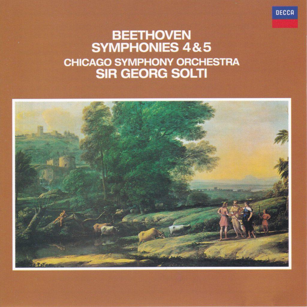 ベートーヴェン交響曲第4番&第5番「運命」 サー・ゲオルグ・ショルティ/シカゴ交響楽団(1974年)