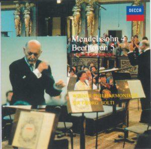 ベートーヴェン交響曲第5番「運命」 サー・ゲオルグ・ショルティ/ウィーン・フィルハーモニー管弦楽団(1990年)