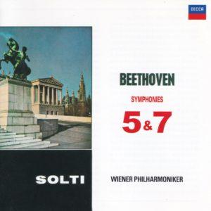 ベートーヴェン交響曲第5番「運命」・第7番 ゲオルグ・ショルティ/ウィーン・フィルハーモニー管弦楽団(1958年)