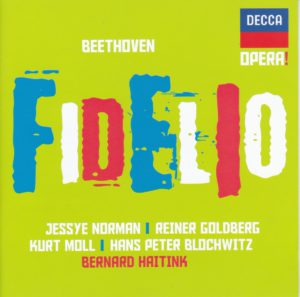 ベートーヴェン歌劇『フィデリオ』 ベルナルト・ハイティンク/シュターツカペレ・ドレスデン(1989年)