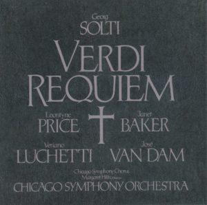 ヴェルディ レクイエム サー・ゲオルグ・ショルティ/シカゴ交響楽団(1977年)
