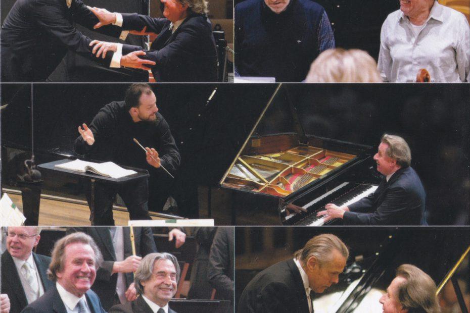 ルドルフ・ブッフヒンダー3回目のベートーヴェン ピアノ協奏曲全集のCD内側のジャケット