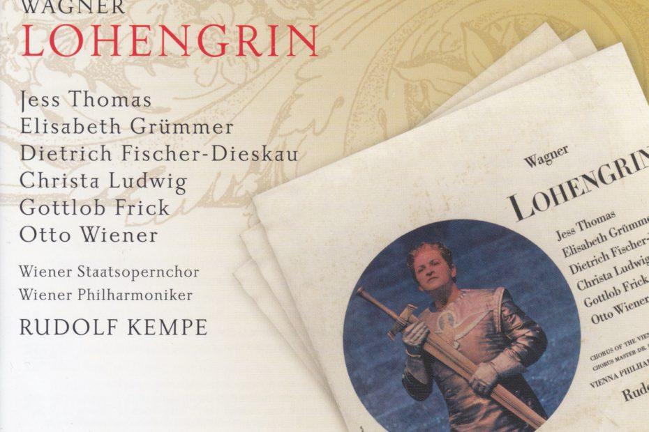 ヴァーグナー楽劇「ローエングリン」 ルドルフ・ケンペ/ウィーン・フィルハーモニー管弦楽団(1962-63年)